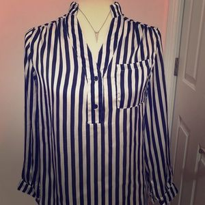 Striped Body Central Top